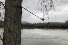 ToltHawk River Cantliver Installation